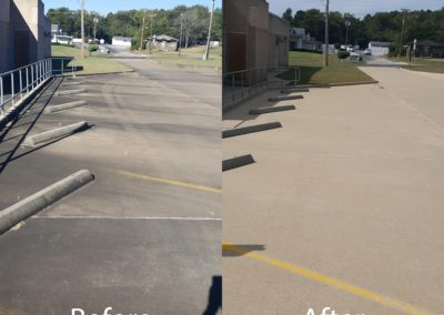 CPA parking BEFORE AFTER