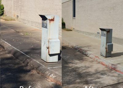 CPA sidewalk BEFORE AFTER